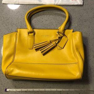 Beautiful Mustard Coach Bag!